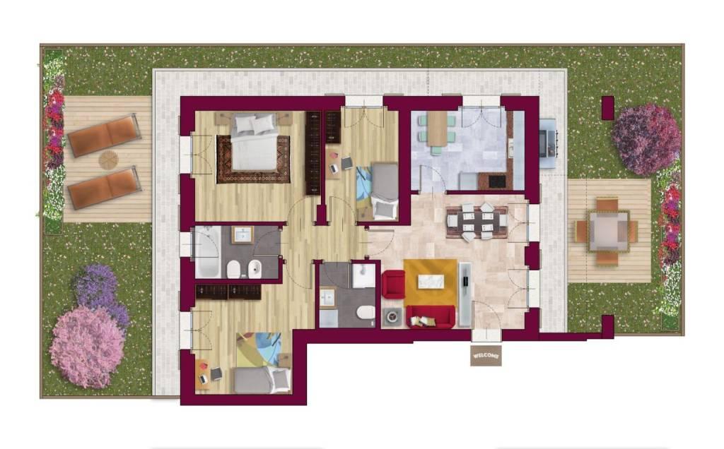foto  4-room flat via per Monticello, San Donato Milanese
