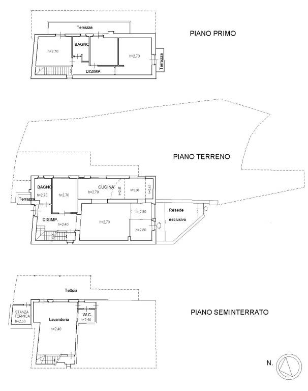 foto planimetria1 Single family villa via Piero Palagi, Pontassieve