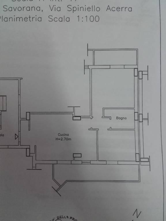 foto planimetria 3-room flat via Spiniello 74, Acerra