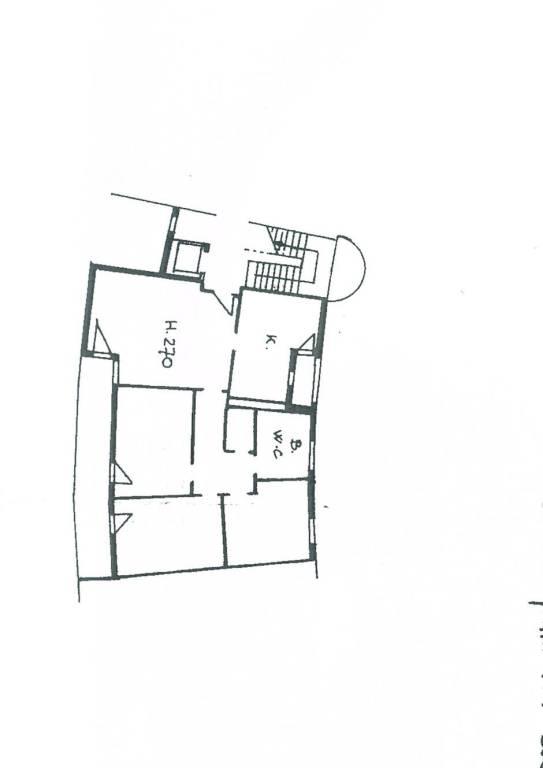 foto planimetria appartamento Διαμέρισμα via della Livornina, 19, Livorno