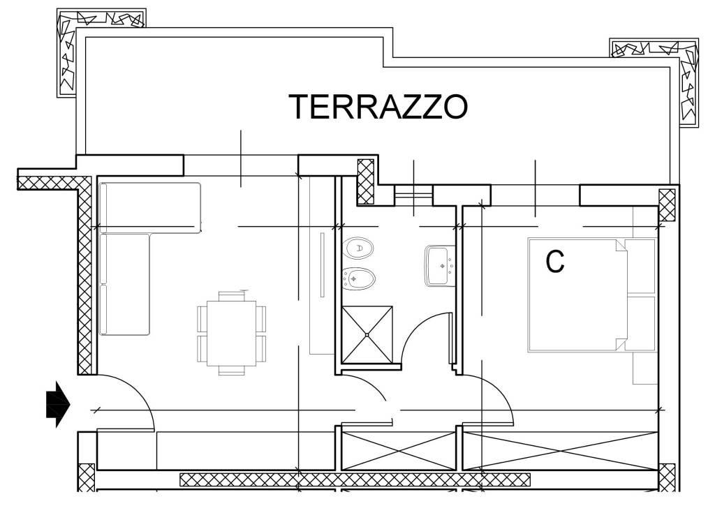foto  2-room flat via 25 Aprile, Cassina de' Pecchi