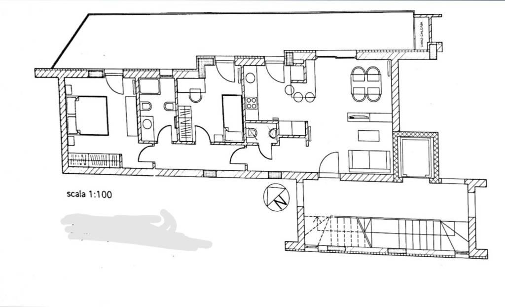 foto  3-room flat via Pier Paolo Pasolini, Bari