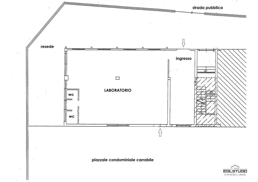 foto PLANIMETRIA Laboratorio in Affitto
