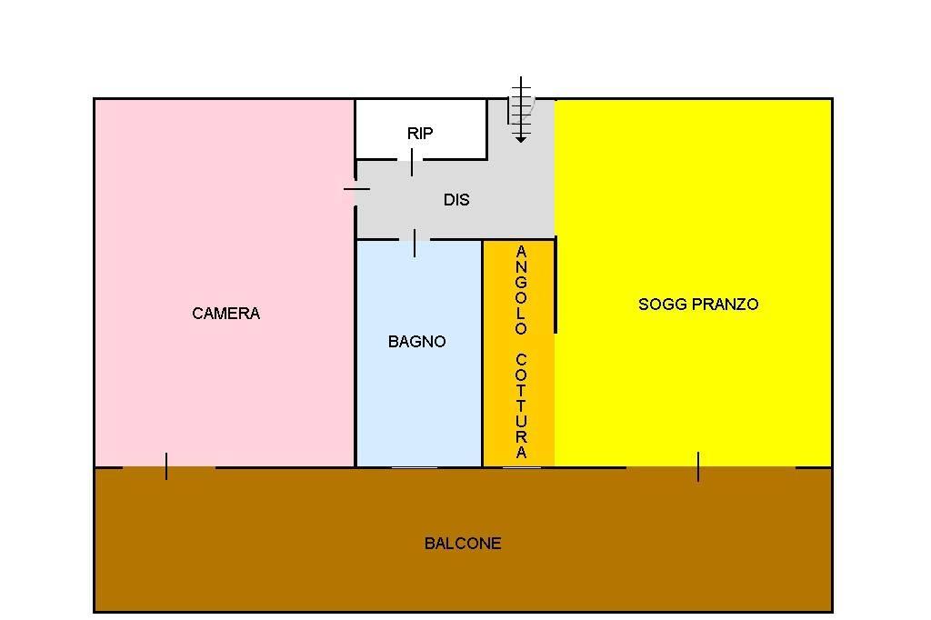 foto  2-room flat via Ada Negri, Bari