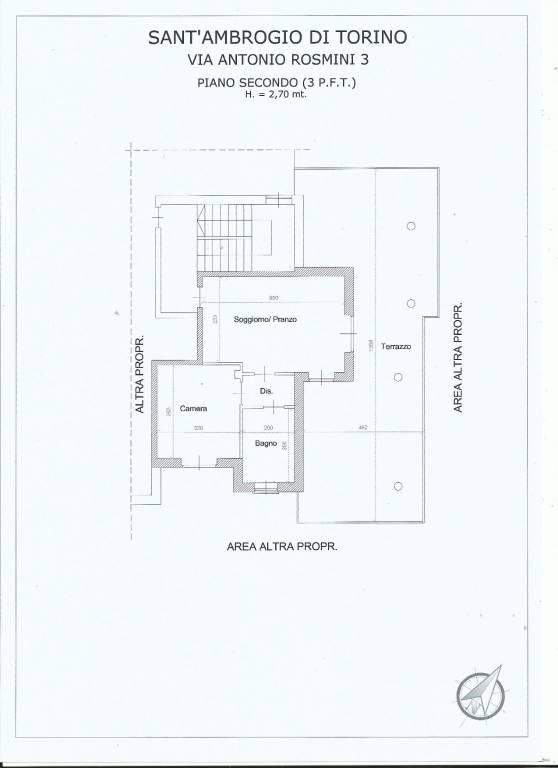 foto  2-room flat via Antonio Rosmini 3, Sant'Ambrogio di Torino