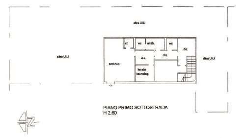 foto Planimetria Office for Rent