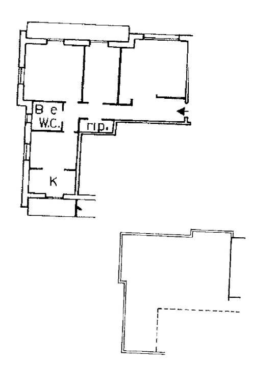 foto  4-room flat via Rexello, Genova