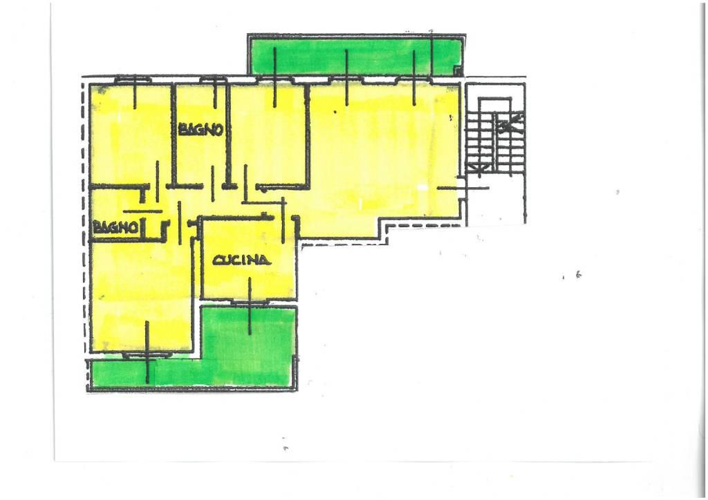 foto PLANIMETRIA 4-room flat vicolo Bruno Buozzi 8, Galliate