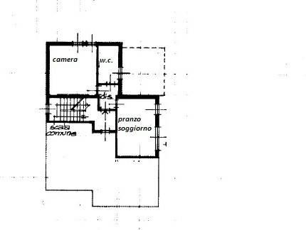 foto planimetria 2-room flat good condition, second floor, Carpineti