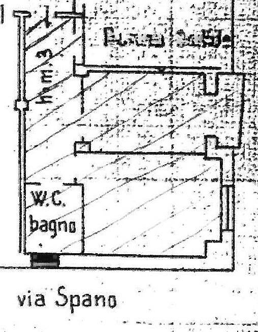 foto Planimetria Bilocale via Giordano Bruno 116, Torino