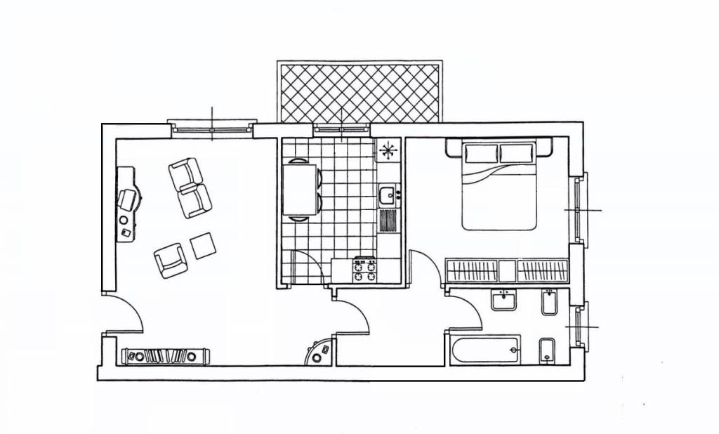 foto  2-room flat viale Sarmazzano 1, Vizzolo Predabissi