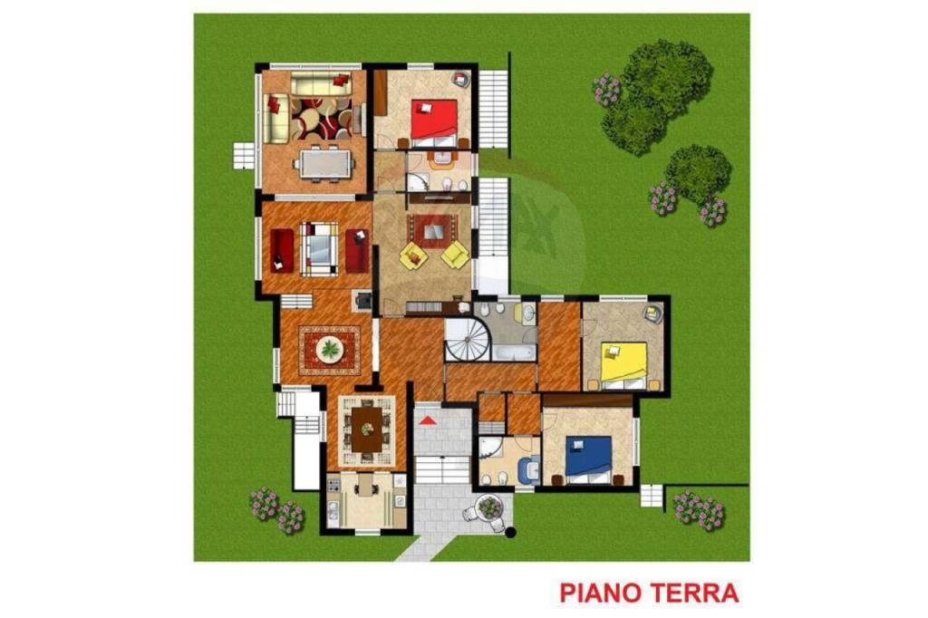 foto PIANO TERRA Single family villa via Zandonai, Bollate