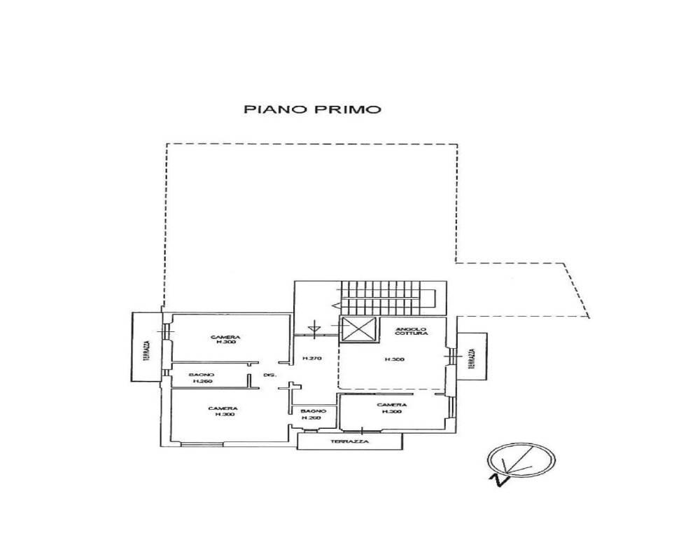 foto planimetria 4-room flat via della Repubblica 31A, Pontassieve