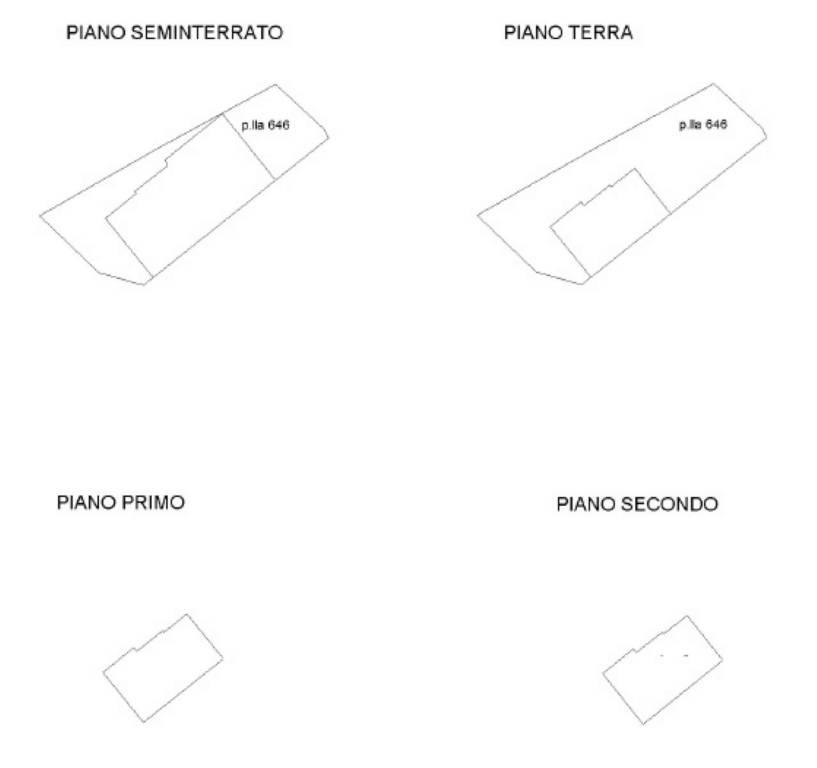 foto Planimetria Trilocale via Vitellia 4, Bellegra