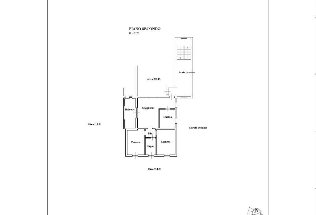 foto Appartamento 3-room flat via Cusago, Cisliano