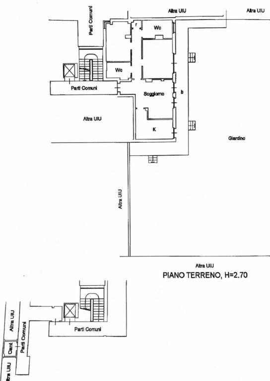 foto PLANIMETRIA 3-room flat via Monte Rosa 86, Rozzano