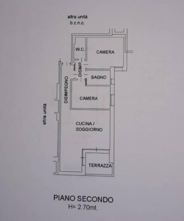 foto planimetria 3-room flat piazza Oberkochen, Montebelluna