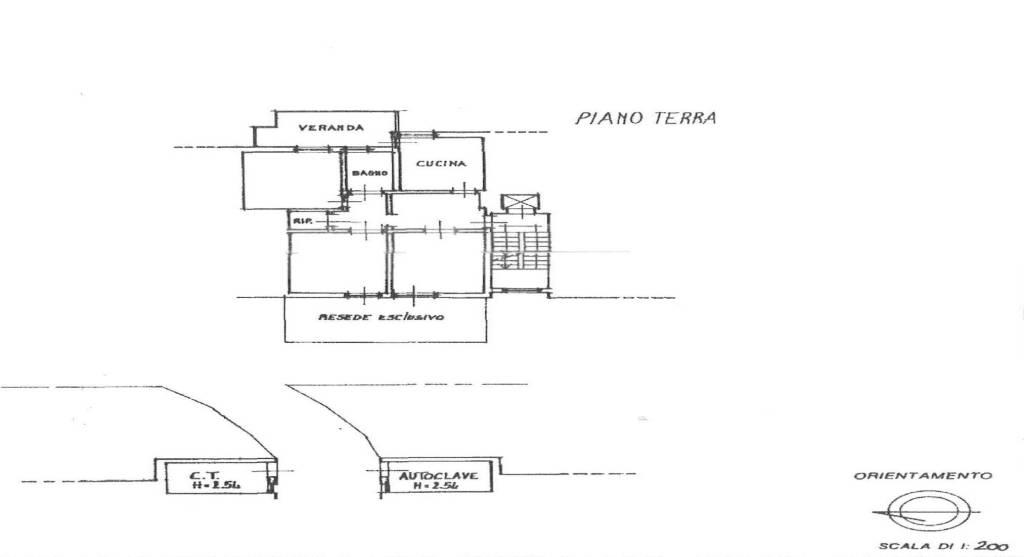 foto planimetria 4-room flat via Silvio Pellico, Pontassieve