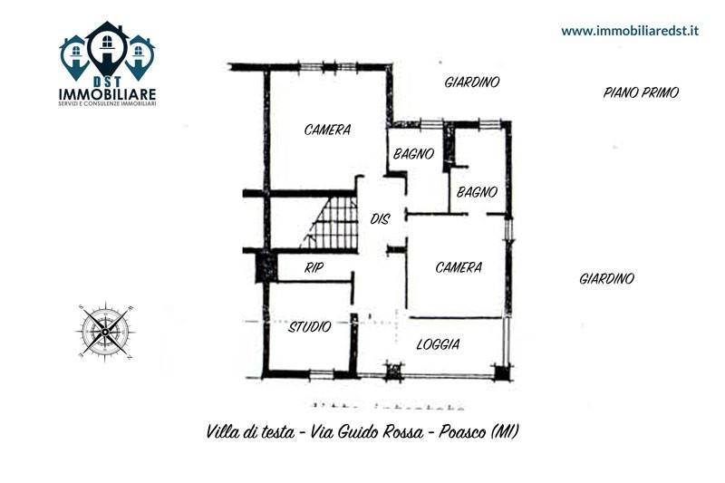 foto  Terraced house via Guido Rossa 53, San Donato Milanese