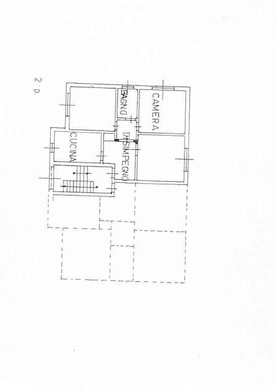 foto planimetria 3-room flat vicinanze spermercato il GIGANTE 1, Canegrate