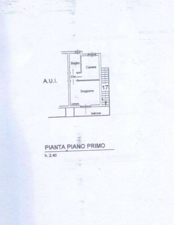 foto Planimetria 2-room flat via Ulse, Vilminore di Scalve