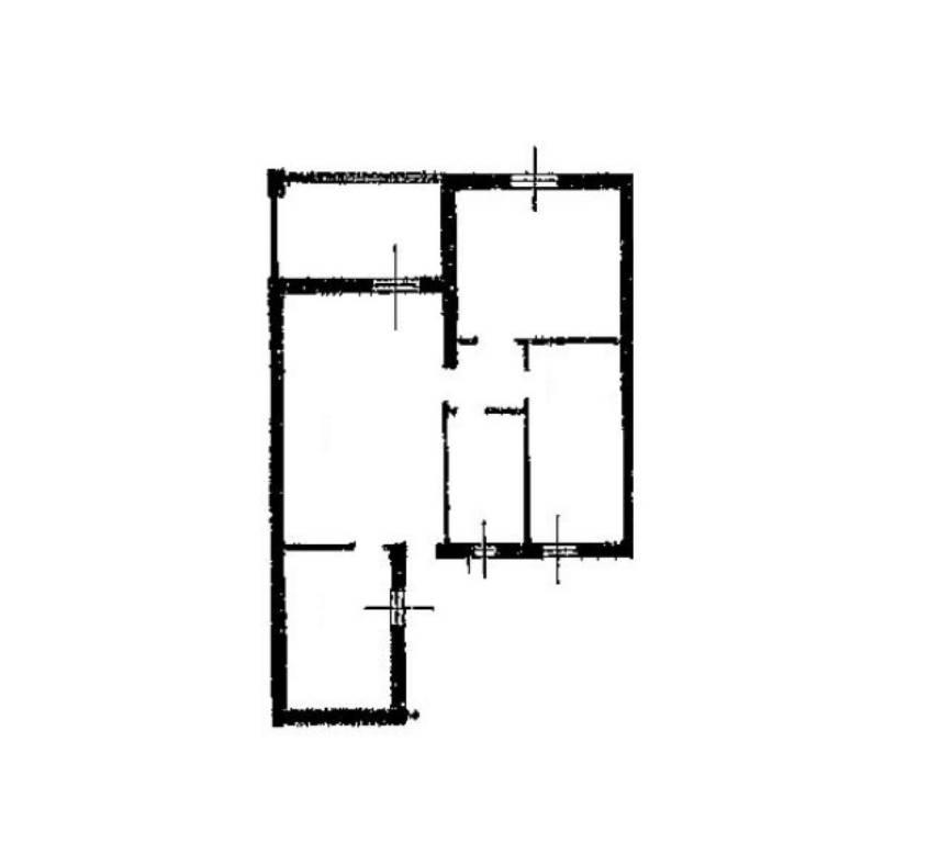 foto PLANIMETRIA 3-room flat via Rossini 05, Vizzolo Predabissi