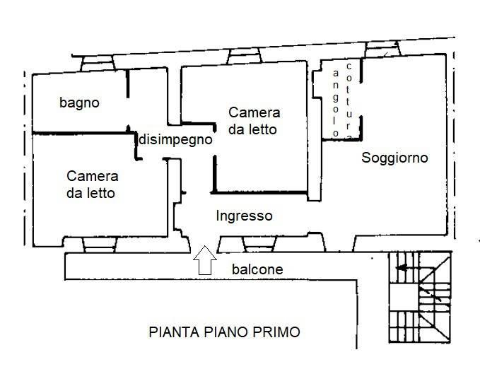 foto piantina Τριάρι via Achille Motta 1, Malnate