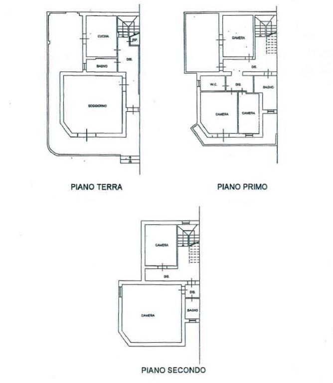 foto PLANIMETRIA Two-family villa Ssr155  Arillette, Alatri