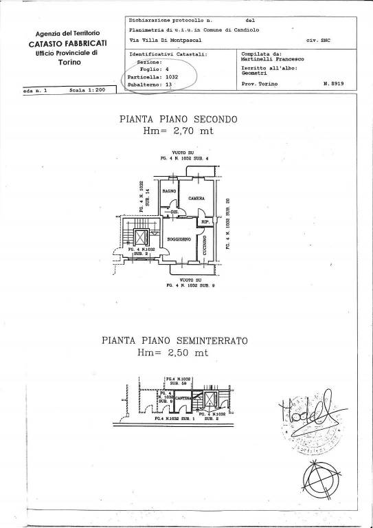 foto  2-room flat via Arietti, 12, Candiolo