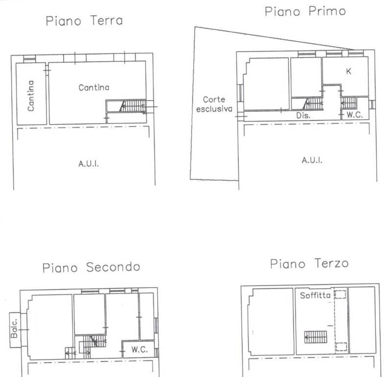 foto Planimetria Villa unifamiliare via Sala 2, Edolo