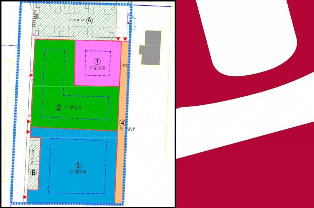 foto PLAN Residential building plot in Bonate Sopra
