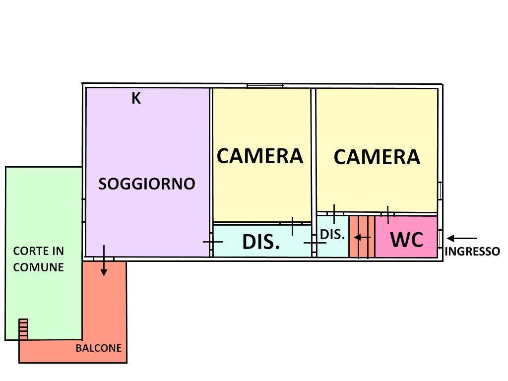 foto  3-room flat via L  Frattarolo 37, Lucera