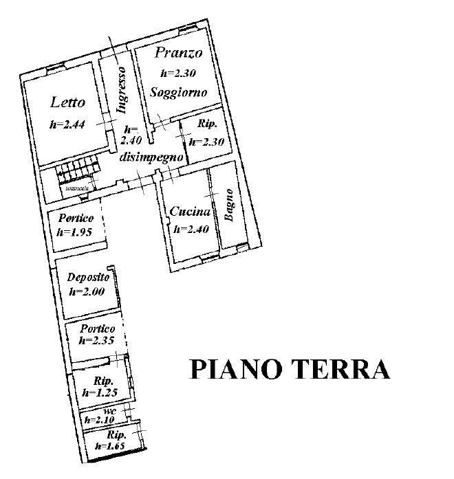 foto plan pt Отдельный дом на одну семью piazza Felice Cavallotti, Gualtieri