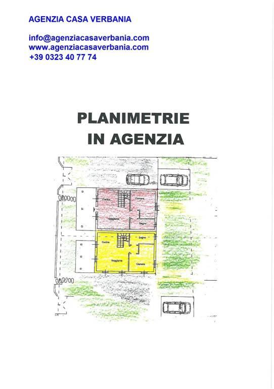 foto plan Terratetto unifamiliare via per Cadevecchio, Oggebbio