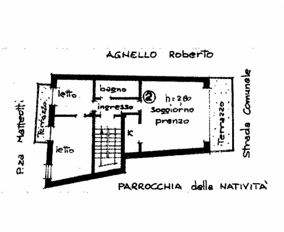 foto  2-room flat piazza Giacomo Matteotti, Aisone