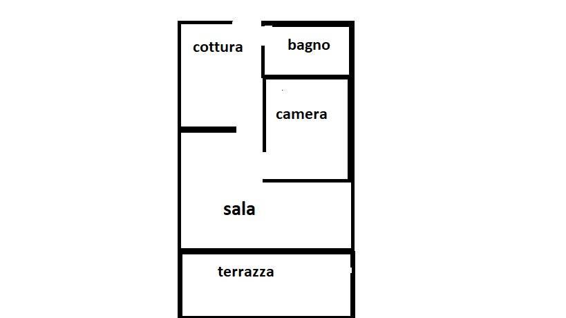 foto  2-room flat via Montebello 7, Valnegra