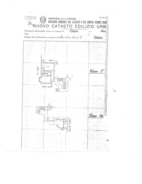 foto PLANIMETRIA Bilocale via Graziadio Ascoli 25, Torino