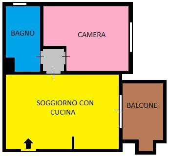 foto  2-room flat via A  Valè 50, Noviglio
