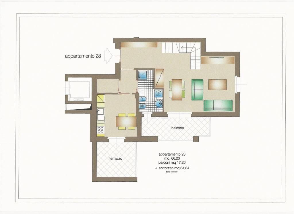 foto  Penthouse via Giuseppe Mazzini 15, Burago di Molgora