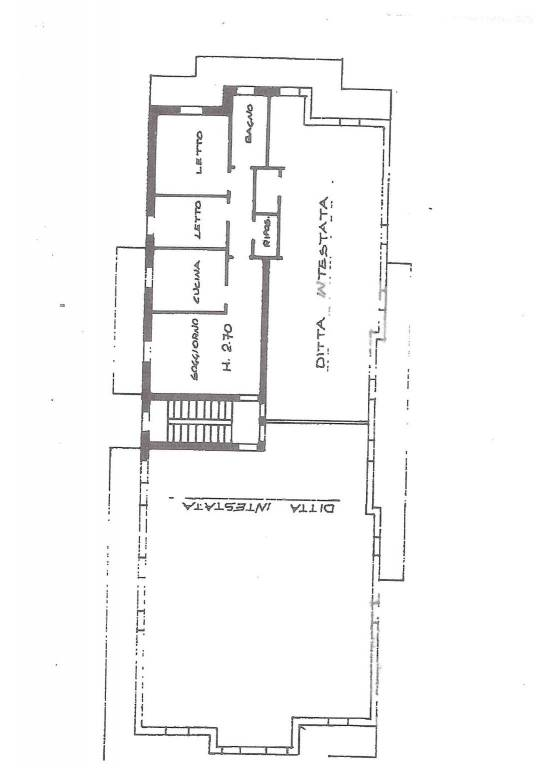 foto plan 3-room flat via Carlo Biffi, Trezzo sull'Adda