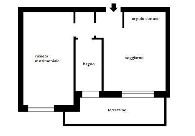 planimetria Appartamento Affitto Buscate
