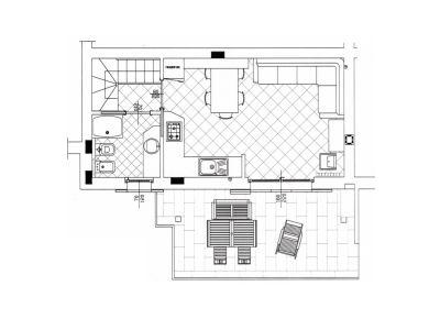 planimetria Appartamento Affitto Caspoggio