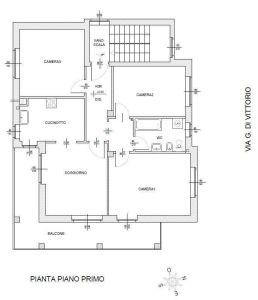 planimetria Appartamento Affitto Domodossola