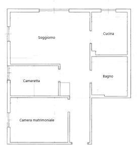 planimetria Appartamento Affitto Gressoney-Saint-Jean