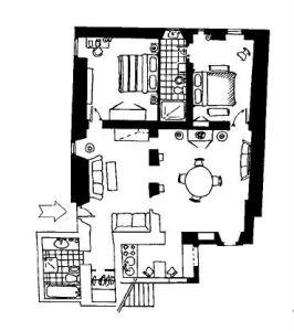 planimetria Appartamento Affitto Lizzano