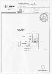 planimetria Appartamento Affitto Morimondo