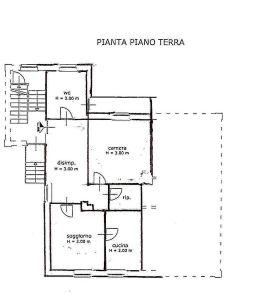 planimetria Appartamento Affitto Verzuolo