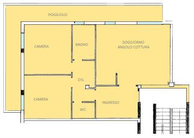 planimetria Appartamento Vendita Abano Terme