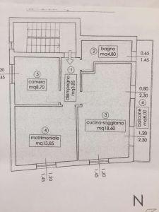 planimetria Appartamento Vendita Agrigento