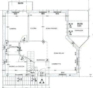 planimetria Appartamento Vendita Andriano
